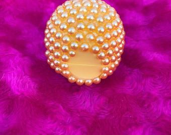 Gold Pearl Bling EOS Lip Balm