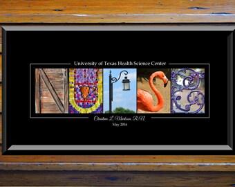 RN - Nurse Appreciation Gift - Nurse Thank You Gift - Nurse Wall Art - Wall Decor- Healthcare Professional Gift - Nurse Office Decor - Art