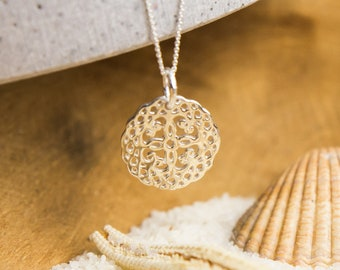 Filigree Necklace Mandala for Mother's Day