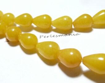 Primer 8 cones 12 par16mm yellow jade jewelry