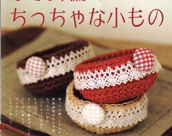 Craft book crochet amigurumi little and small things C003
