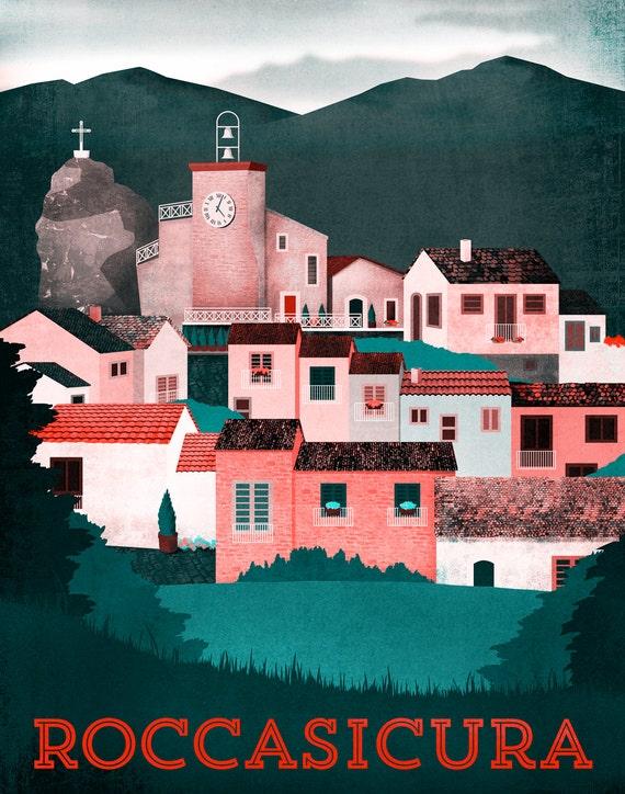 Roccasicura Print