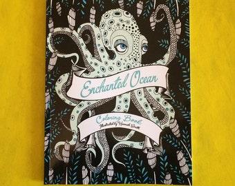 Enchanted Ocean Coloring Book