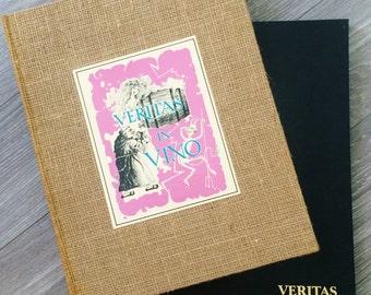 Vintage Wine Book, Wine Lovers Book, Vintage Prints, Vintage Wine Prints, Wine Art,  Wine Lovers Gift