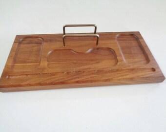 Vintage Men's Wood Valet