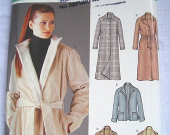 New Look 6221 Coat Pattern