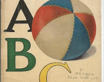 Vintage Linen Object ABC Childen's Book