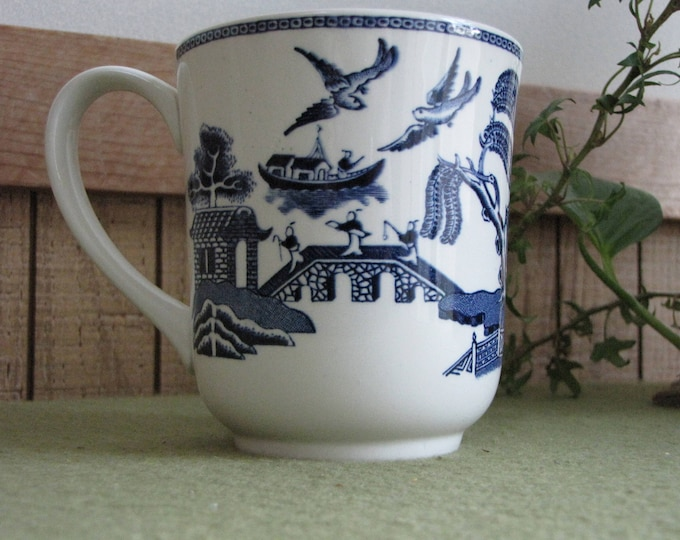 Blue Willow Ware Coffee Mug Johnson Bros. Vintage Dinnerware and Replacements