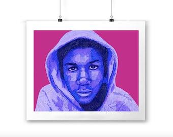 Trayvon Martin Print