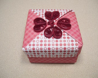Small heart gift box