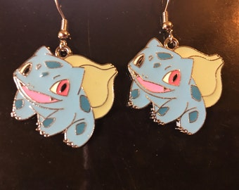 Pokemon Bulbasaur Earrings   P35