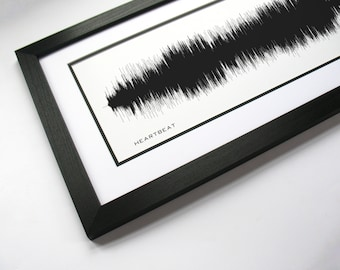 Heartbeat  - Country Music Sound Wave Wall Art