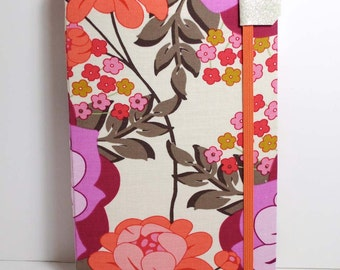 Kindle 3 Cover for latest generation - Delicious Muted Floral fits Kindle Keyboard model
