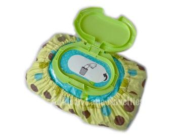 Dots Safari granel bebé Limpie la cubierta