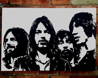 Pink Floyd-The Wall-Modern art painting Style Pop art painting handmade canvas 100% cotton acrylic color