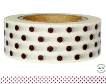 Washi Tape DOTS purple