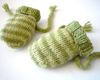 EASY baby KNITTING PATTERNS pdf - baby mittens - 0-6 months, 6-12 months