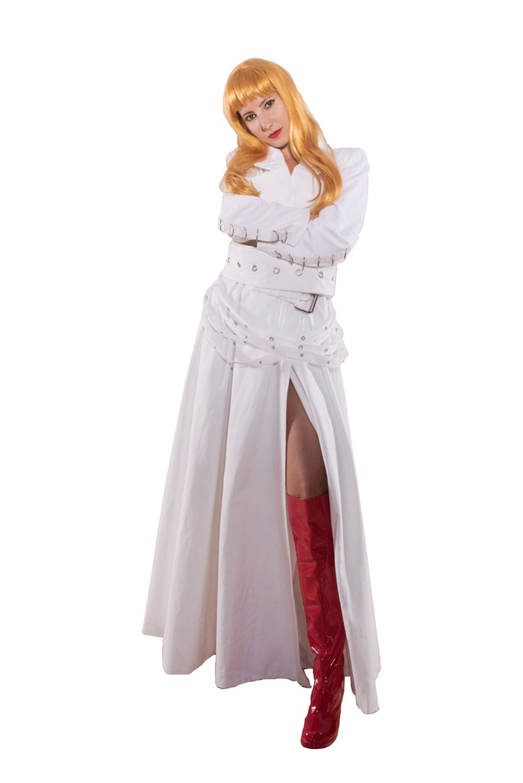 mad scientist white lab coat with bondage straps fetish