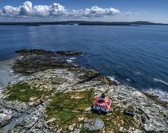 Lighthouse Photography – Egg Rock Lighthouse in Frenchman Bay Maine