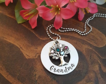 Mothers Day Gift For Grandma | Mothers Day Necklace For Grandma | Grandma Necklace For Mother's Day | Mothers Day Personalized Gift