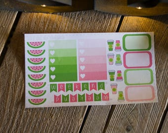 Watermelon Planner Stickers