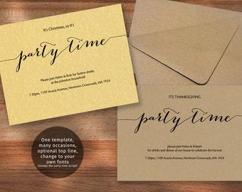 celebrate it occasions invitation templates - Vatoz.atozdevelopment.co