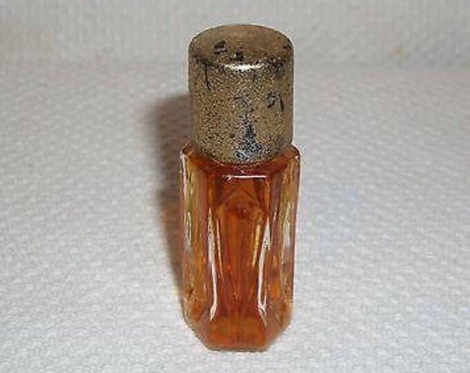 Vintage 50s 60s Studio Girl Of Hollywood Shangri-La Full Perfume Bottle 1/8 FL OZ