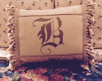 Custom Needlepoint Pillow Cover Not For Sale