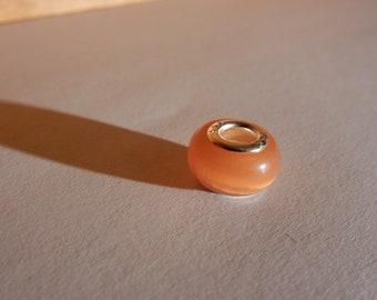 You Are Not Alone Bracelet - Orange bead