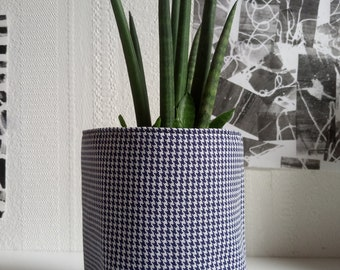 Fabric flower-pot holder, catchall basket, storage Pocket