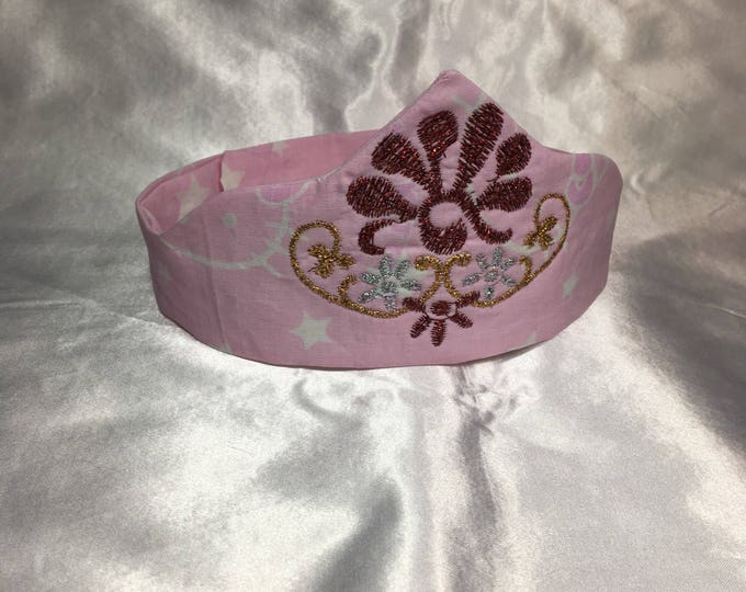 Fabric Crown for Princess or Queen
