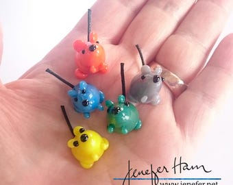 SQUEAKS! Game markers made by Jenefer Ham