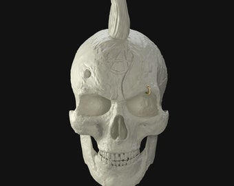 Skull Collection- The Pure (Marble)
