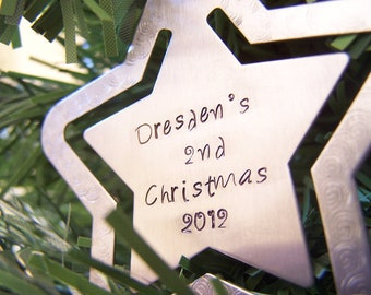 Easter Present Customizable Fathers Ornament, Baby's First Fathers Ornament, Tree Ornament, Star Ornament, Personalized tree ornament