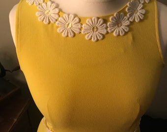 1960s style mod dress