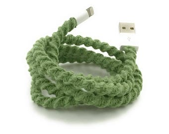 iPhone Lightning Charger Cable, iPhone EarPods, iPhone EarPods plus Lightning Cable Gift Set You Choose - SAGE by Missy and Joy
