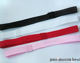 Interchangeable Headband - YOU PICK COLOR, Interchangeable Headband, Baby Headband, Photography Prop