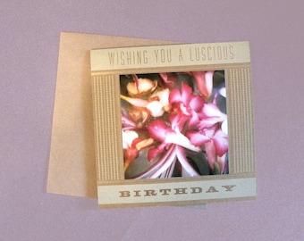 Luscious Birthday Card