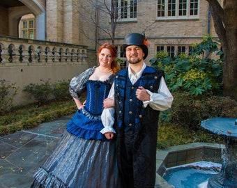 Renaissance Wedding Dress, Bridal,  Renaissance Wedding, Costume, Fairy Tail Wedding, Themed Wedding, Court Gown, Wedding Party, Halloween