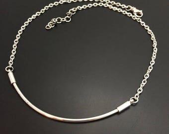 Sterling Silver Handmade Bar Necklace By Joy Kruse Wild Prairie Silver Jewelry