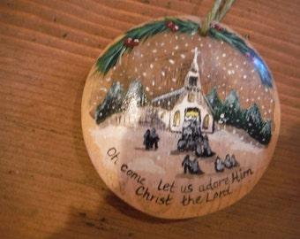 church ornament