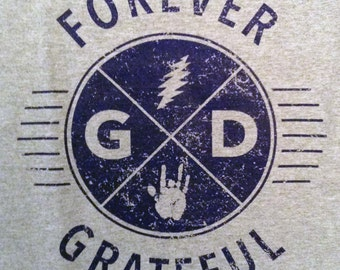 Forever GD Grateful Dead Tee - All Sizes S-3XL