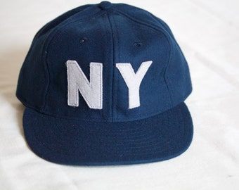 Limited Edition NY Navy and White Wool Hat