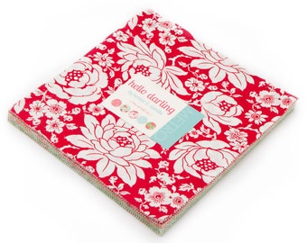 Hello Darling Layer Cake - Bonnie and Camille - Thimbleblossoms - Moda Fabrics - IN STOCK