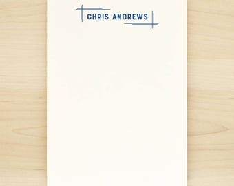 BLUEPRINT Personalized Notepad - Business Professional Modern