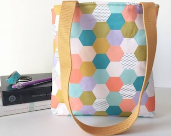 MP spring hexies bible bag