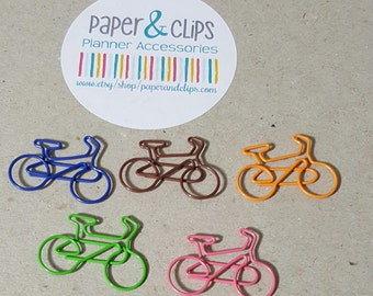 5 Bicycle Paperclips
