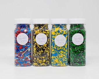 Variety Pack of SUPER HERO Sprinkles