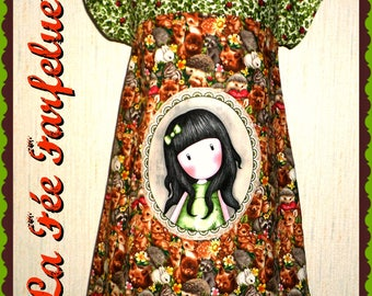 Dress WOODLAND from 4 to 10 years