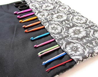 Crochet Hook Gift Idea, Crochet Lovers Gift, Crochet Hook Case, Hook Holder, Crochet Case, UK seller, Mothers Day Gift